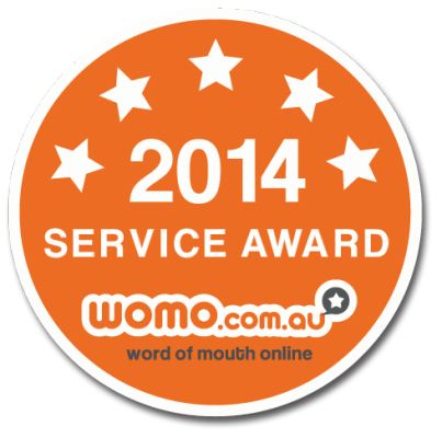 Womo Window Cleaning Service Award 2014